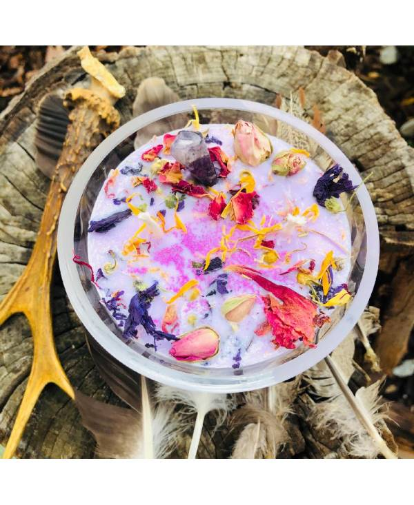 Svíčka fialková - Levandule - Ametyst